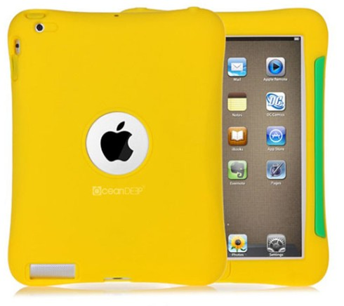 New design colorful tablet silicone case for ipad 4