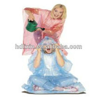 Disposable cheap clear waterproof hooded pink purple transparent plastic PE poncho plastic rain poncho