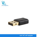Dual-band Mini wifi adapter High power 802.11a 600mbps 802.11a 2.4ghz / 5ghz wireless wifi card