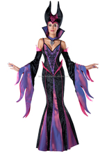 spandex women evil black vampire queen costume for carnival
