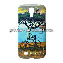 2013 Ultrathin Series plastic mobile smart phone cases For samsung S4 i9500