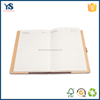 Creative design low price Pu leather cover travelers notebook