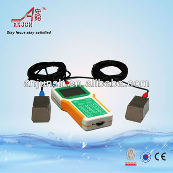 Chemical liquid Handheld ultrasonic water flow sensor with transducers and CE approve/ISO9001/BV Certificate