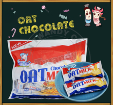 New oat chocolate biscuit