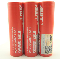 Authentic Aweite awt 3000 mah18650 battery 40a for battery importer boxer mod dna 200