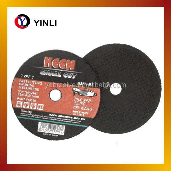 china cutting disc 7 inch abrasive cutting wheel for metal