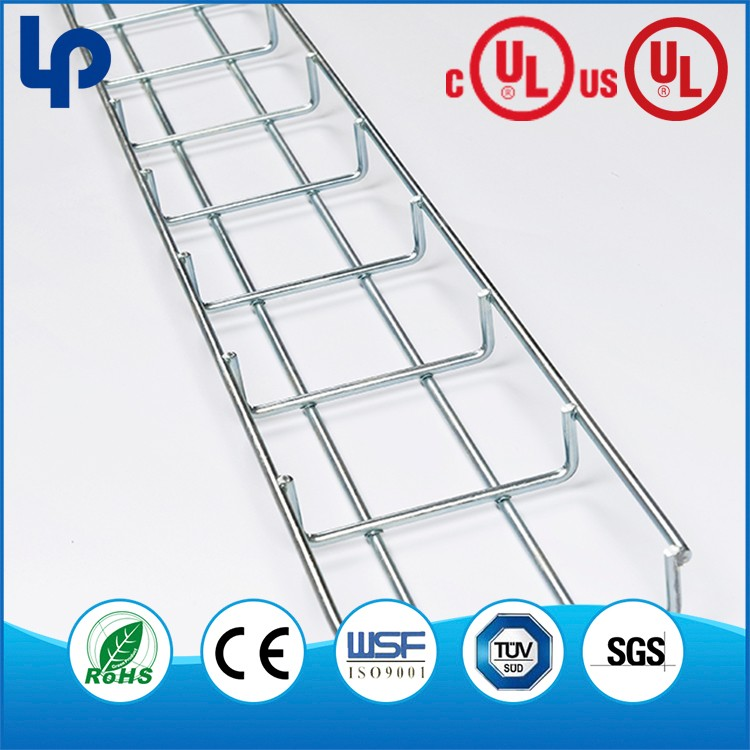 Stainless Steel 304 316 316L Wire Mesh Basket Cable Tray And Trunking
