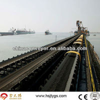 Mining transporting belt conveyor system 10000 tons per hour