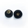 OEM/ODM China supplier injection molding black plastic knob