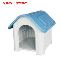Hot sale cheap modern plastic pet kennel with window dog outdoor house