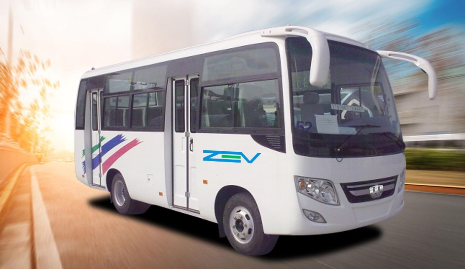 ZEV AUTO 6.6meters tour bus on discount China Bus Manufacture