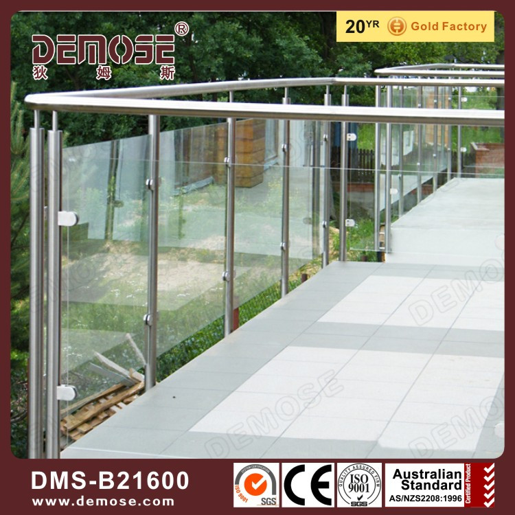 building materials fancy glass railings for balconies photos
