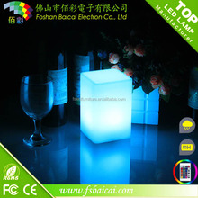 battery power cube lighting Rechargeable led table lamps
