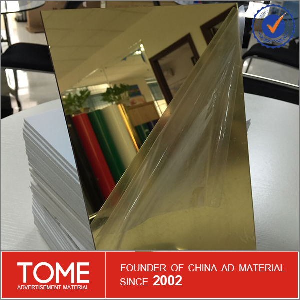 pmma mirror sheet/high density mirror polystyrene board