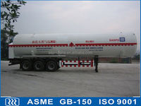 liquefied natural gas cryogenic liquid lorry tanker