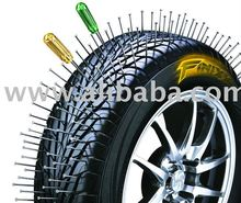 "FINIXX ""Never Goes Flat"" tire. No need to repair, No more spare tire."