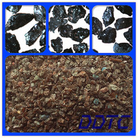 Anticaustic P Grade Material Brown Fused Alumina Abrasive Polishing Grains Brown Aluminum Oxide