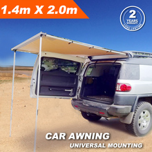 1.4MX2M 4X4 Offroad Roof Top Tent Car Side Awning For Camping