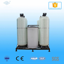 dual-tank Ion exchange resin regeneration 8000liter/hour water softener