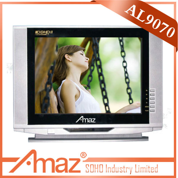factory made 21inch ultra slim 12v TV set with CIQ