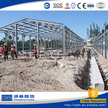 CDPH galvanized steel structure prefab building for factory