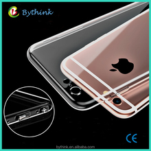 2017 Best christmas gift Ultra slim cheapest low price clear case for iphone 5 6 7 8 mobile phone