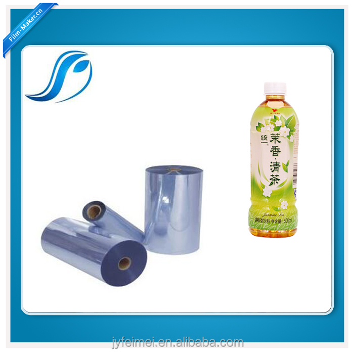 Tubular Cast PVC Shrink Film For Sleeve Application Machinery