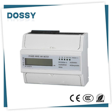 Most popular 320 imp/kwh with lcd three phase energy meter