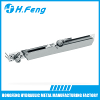 High class damper closing soft door buffer sliding door pulley system