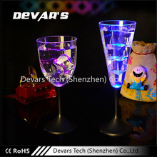 Plastic Wine Led Flashing Glass For Bar
