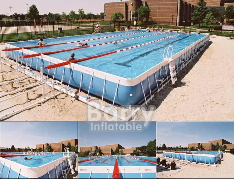 Hot inflatable aqua pool run obstacles / aqua run / inflatable aqua run for pool