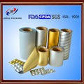 alu alu foil for strip packing for pharmaceutical packaging
