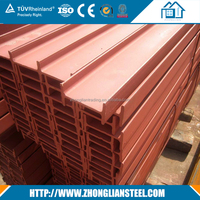 High Quality ASTM A36 structural steel h beam dimensions