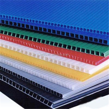 Recycled plastic pp hollow sheet polypropylene corrugated board