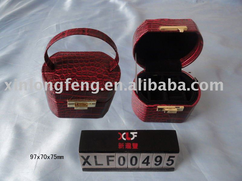 fantastic wholesale leather jewelry case manufacturer in China