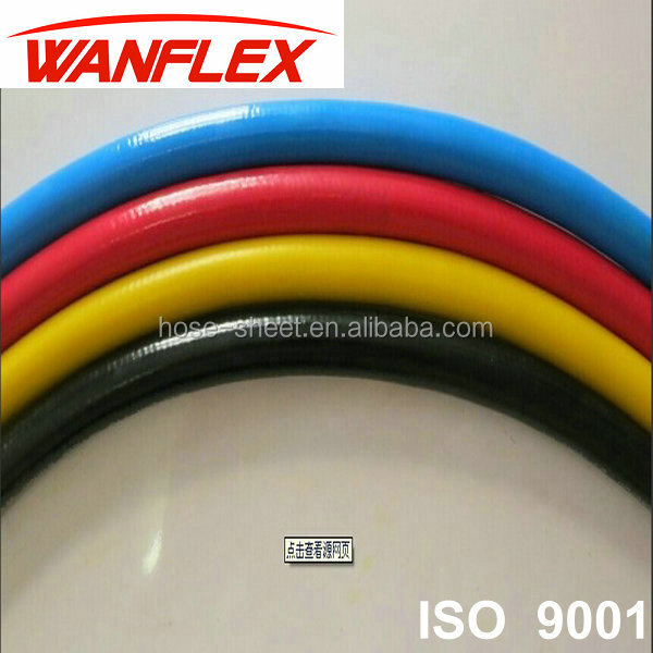 High Quality Flexible Hydraulic lpg welding gas rubber pipe