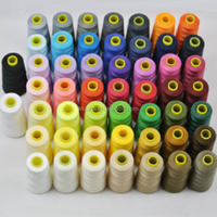 Stock lot 40/2 5000Y polyester sewing thread , bulk sewing thread with cheap price