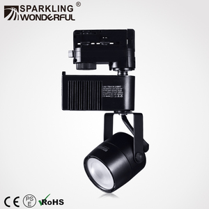 40w 3 phase 4 wires magnetic factory construction work led track light