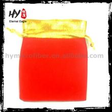 Customized fashional velvet pouch, cheap velvet gift pouch, soft velvet pouches