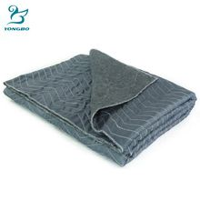 Wholesale cheap quilted non woven moving blanket for furniture protection