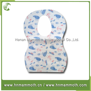 ISO Certification China Manufacturer wholesale disposable baby bib