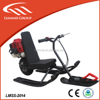 CE 49cc Automatic Manual and Electric Start Chain Drive Chinese Snowmobile