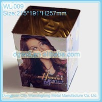 hot beer or ice tin container, customized ice bucket