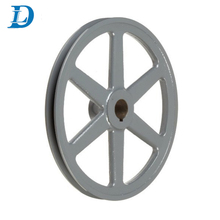Standard and Nonstandard Cast Ion Cement Mixer Pulley Wheel V Belt Pulley