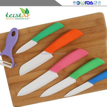 2015 new products promotion environmental zirconia multifunctional cabinet room ceramic knife sharp