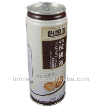500ml slim tall tin beverage can