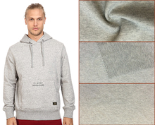 Grey Cotton Polyester Elastane Ponte Roma Knit Fabric for Sweatshirt