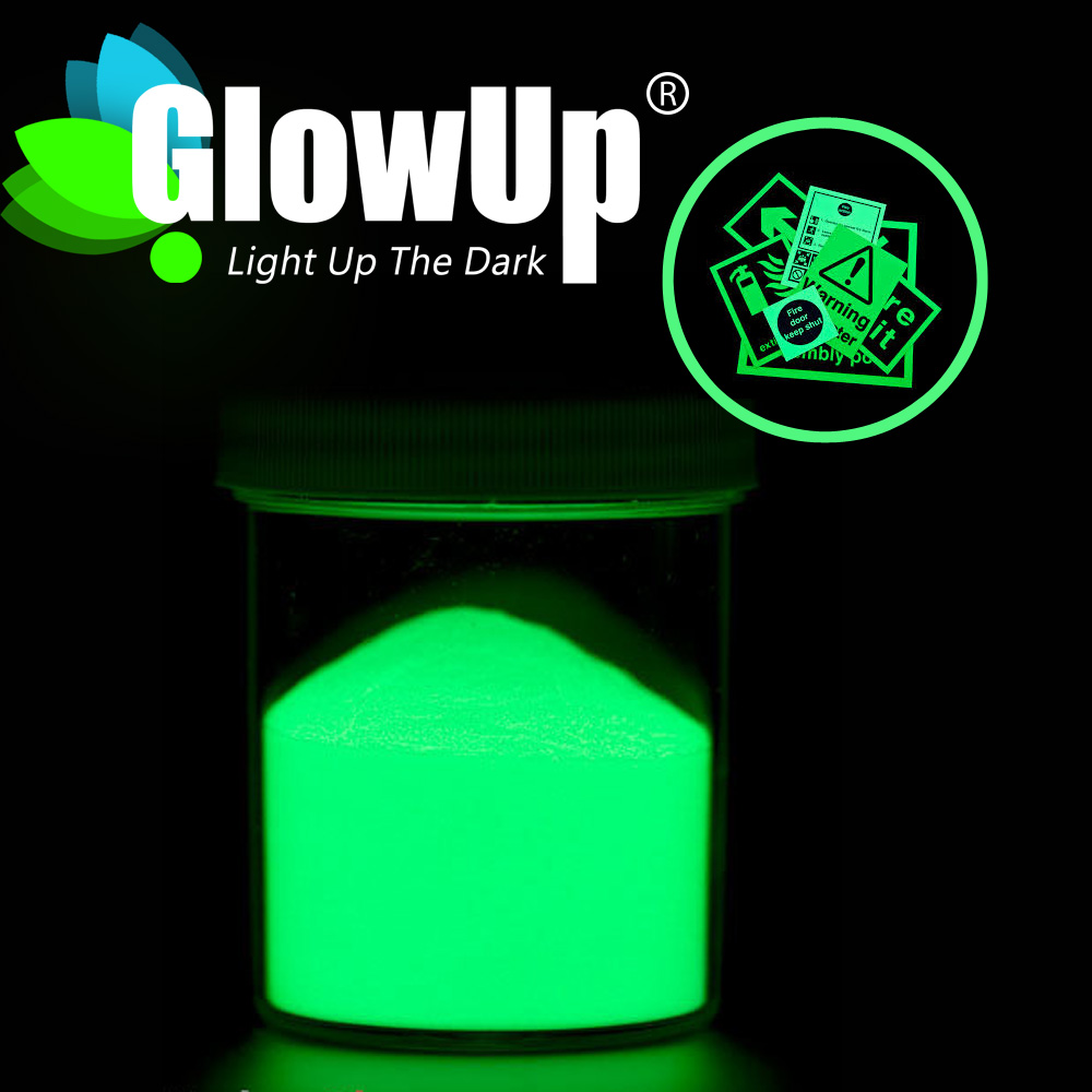 YG-E5-RW JOLIN water proof glow in the dark pigment for screen printing fabric clothes