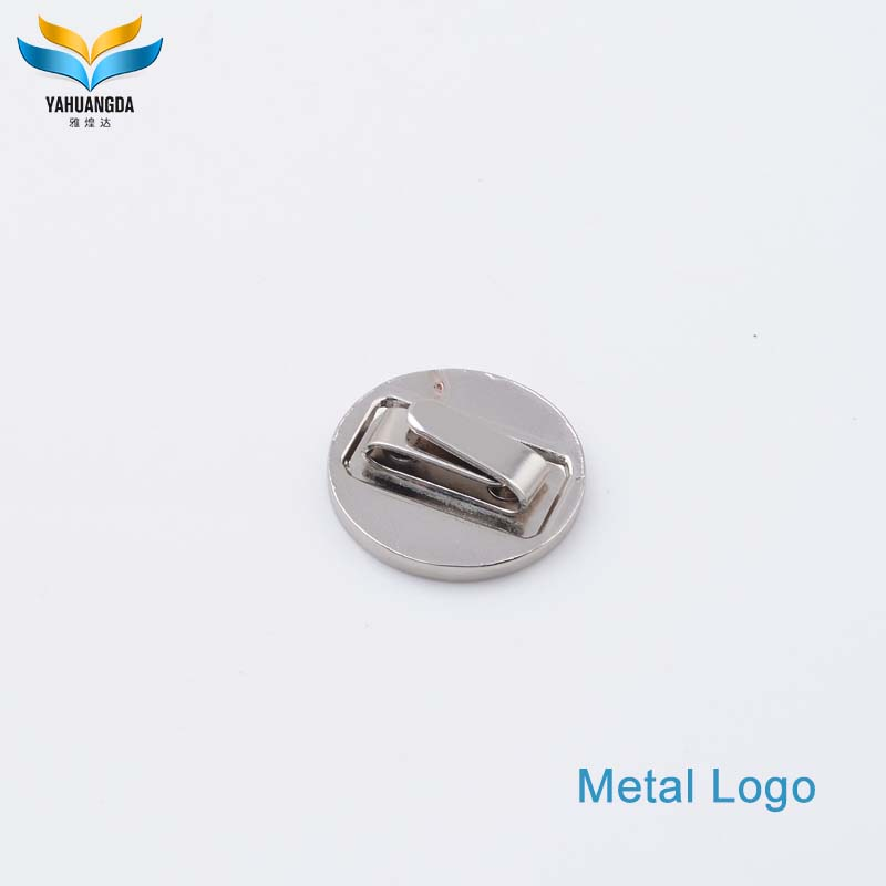 famous bags accessories brand names metal logos label maker for bags/lugguage/clothes