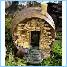 EXW High Quality Resin Garden Natural Fairy House